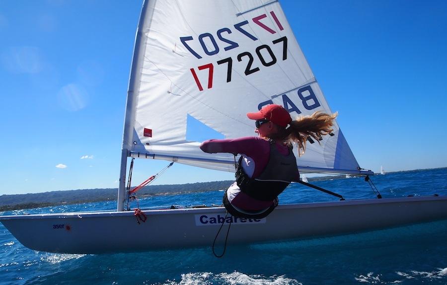 cabarete-laser-sailing